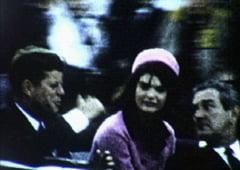 Imagini nemaivazute cu John Kennedy, in momentele de dinainte de asasinat (Video)