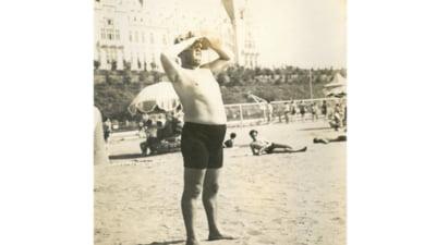 Imagini rare cu scriitorul Mihail Sadoveanu la plajă. Fostul ștrand din centrul Iașiului, așa cum arăta în perioada interbelică FOTO