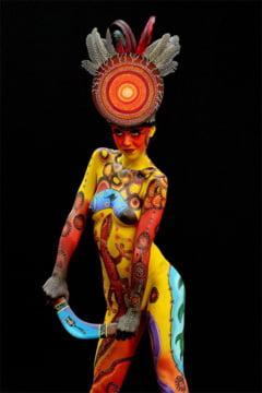 Imagini socante de la Festivalul Bodypainting (Galerie foto)