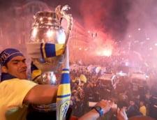 Imagini spectaculoase cu fiesta Petrolului, dupa finala Cupei (Video)