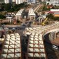 Imagini spectaculoase cu lucrările la pasajul de la Domnești. Construcția, finalizată în proporție de 40% VIDEO