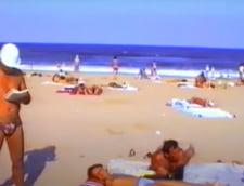 Imagini spectaculoase din Costinesti in 1991. Atractia statiunii, Discoteca Ring VIDEO