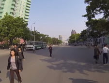 Imagini surprinzatoare filmate cu o camera ascunsa in Coreea de Nord (Video)