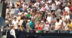 Imagini viral de la Australian Open: Motivul pentru care doua femei au fost la un pas de bataie (Video)