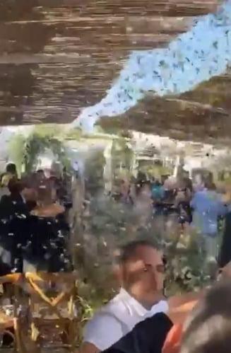Imaginile momentului! Simona Halep și Toni Iuruc, la starea civilă! Atmosferă de basm la nunta tenismenei VIDEO