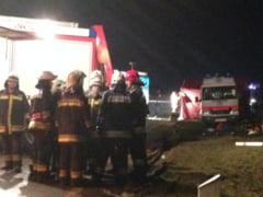 Imigranti raniti in Ungaria, in urma unui accident cauzat de un sofer roman