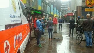 Impuscaturi in centrul capitalei Finlandei, un om a murit
