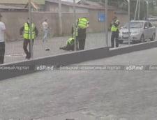 Impuscaturi si tentativa de sinucidere in plina strada la Balti, al doilea oras ca marime al Republicii Moldova VIDEO