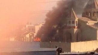 In Califatul Islamic nu e loc pentru crestini: Biserica veche de 1800 de ani, incendiata