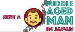 In Japonia poti inchiria, cu 8 euro pe ora, un barbat de varsta mijlocie, care sa te asculte si sa te ajute cu treburile casei