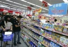 In Romania nu s-au gasit produse alimentare cu lapte praf din China