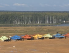 In Rusia se desfasoara campionatul mondial de biatlon cu ... tancuri - Cine sunt invingatorii (Video)