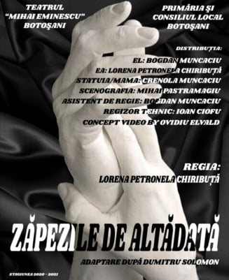 """In acest weekend, actorii Teatrului """"Mihai Eminescu"""" va invita la spectacol"""