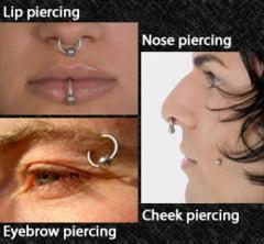 In cate moduri poti purta un piercing pe fata (Galerie foto)