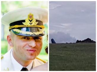 In ce stare este pilotul care a reusit sa se catapulteze din MIG ul prabusit in Mures. A fost internat la ATI