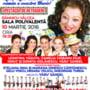 In data de 10 martie, Spectacolul de retragere din activitate al Mariei Ciobanu, la Ramnicu Valcea