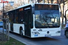 In oras, ca la tara: Traseu de autobuz scurtat, din cauza noroiului de pe strada