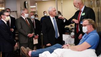 In plina pandemie, Mike Pence a vizitat un spital... fara masca de protectie