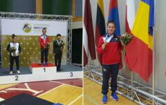 In stil de mare campioana. Alina Vuc, aur la Mondialul Militar de lupte!