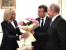 Inaintea summitului de la Istanbul, Putin a vorbit la telefon cu Erdogan si Macron, nu si cu Merkel