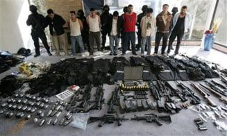Inalti oficiali militari din Mexic, acuzati de trafic cu droguri