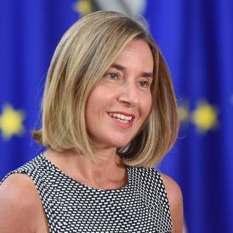 Inaltul reprezentant UE pentru Afaceri Externe asigura ca niciun stat membru nu-si va muta ambasada la Ierusalim: Sunt doar vorbe!