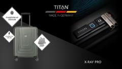 Inbagaj.ro a lansat in Romania in premiera bagaje cu ampreta digitala X-RAY de la producatorul german TITAN