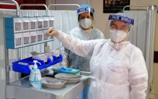 Inca 17.800 de persoane vaccinate anti-COVID in ultimele 24 de ore. Numarul total al imunizarilor depaseste 76.000