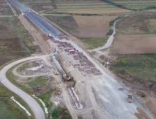 Inca o autostrada cedeaza: A10 este afectata de alunecari de teren. Ministrul Cuc sta linistit si da asigurari ca totul va fi bine