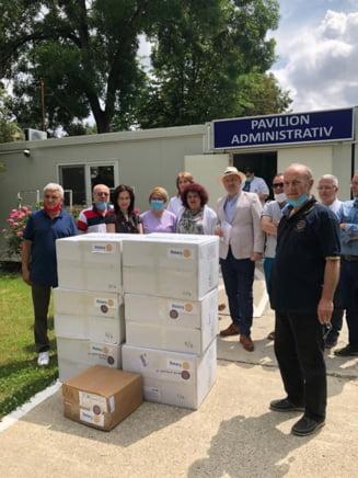 Inca o fapta buna facuta de Rotary Club Barlad: spitalul barladean a fost dotat cu echipamente medicale vitale!