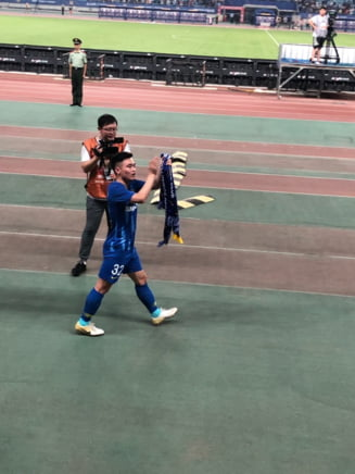 Inca o victorie pentru Olaroiu in China, in ziua in care Bale a venit sa semneze cu Jiangsu
