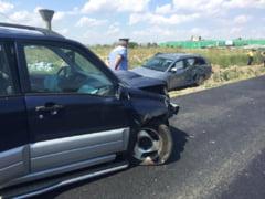 Inca un accident pe un drum judetean. Sapte cetateni polonezi, implicati