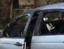 Inca un automobil al unui roman, incendiat la Roma? MAE ia masuri (Video)
