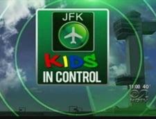Inca un copil a dirijat traficul aerian pe aeroportul JFK din New York
