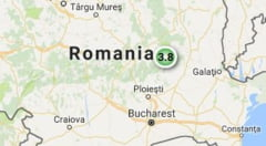 Inca un cutremur in Romania