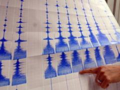 Inca un cutremur in Vrancea - 3,4 grade