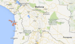 Inca un cutremur puternic in Chile - Aproape un milion de oameni evacuati
