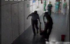 Inca un incident grav, la spitalul Ojasca. Un pacient s-a taiat la gat cu un cutter