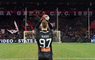Inca un meci mare facut de Ionut Radu in Italia