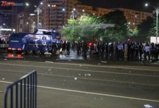 Inca un protestatar a fost retinut dupa violentele din 10 august