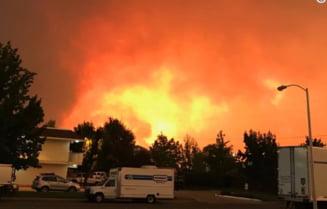 incendii devastatoare in california 5 morti tornade de foc si