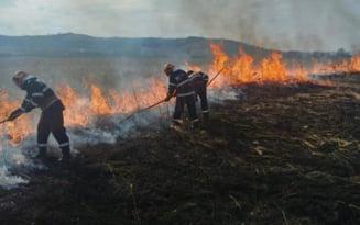 Incendii pe banda rulanta in Mehedinti