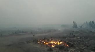 Incendiile de pădure pun în pericol un centru de cercetare nucleară din Rusia. A fost decretată stare de urgență
