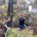 Incendiile devastatoare din Grecia. Pompierii români, ajutați de colegi din Republica Moldova VIDEO