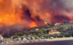 Incendiile devastatoare din Grecia. România trimite în sprijinul grecilor peste 100 de pompieri și 23 de autospeciale VIDEO