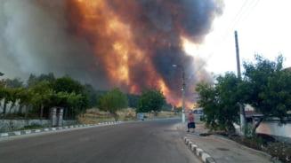 Incendiile din Bulgaria iau amploare și încep să facă victime. 93% dintre ele, provocate de oameni