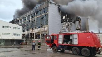 Incendiu cu repetitie la incineratorul din Brazi. Ce suprafata este afectata
