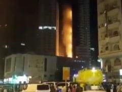 Incendiu de proportii intr-un zgarie-nori (Video)