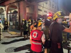 Incendiu de proportii la cel mai mare spital COVID din Filipine. Sute de persoane sunt evacuate VIDEO
