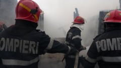 Incendiu de proportii la o ferma din Giurgiu